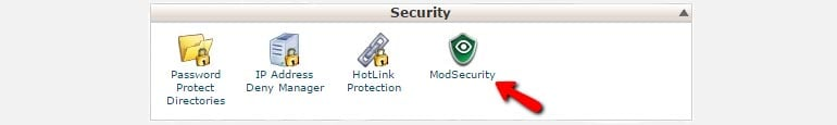 New Security Feature in the cPanel Service ModSecurity