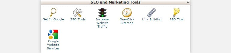Shared Hosting Attracta SEO and Marketing Tools