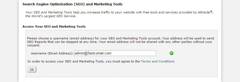 Accessing SEO and Marketing Tools