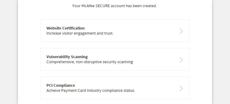 Scan Website for Vulnerabilities with McAfee