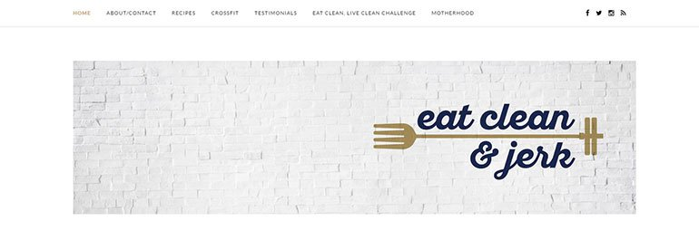 Eat Clean and Jerk Logo