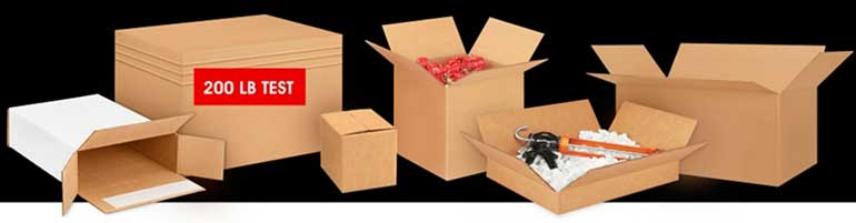 Uline with Over 1000 Sizes of Boxes