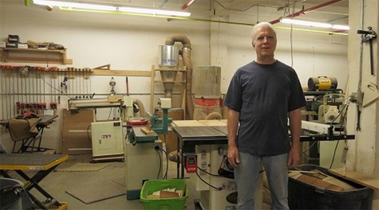 Don Strenczewilk in His Workshop - FastComet Spotlights
