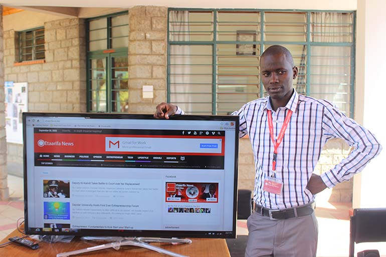 Joyadams Munene and His Website Preview - FastComet Spotlights