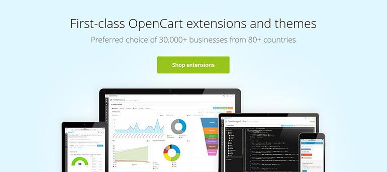 iSenseLabs First-class OpenCart Extensions and Themes - FastComet