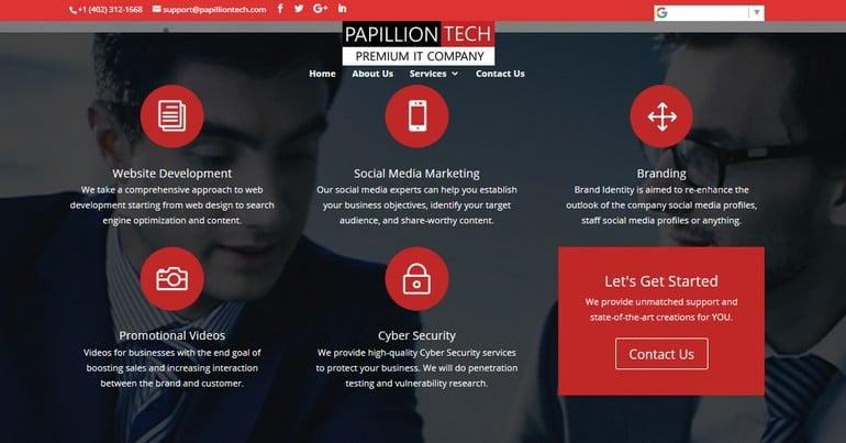 Papillion Tech Features