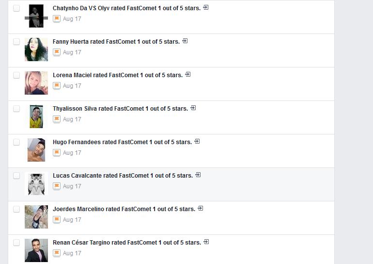 FastComet False Bad Reviews