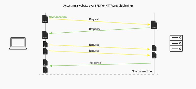 Accessing Websites Over SPDY or HTTP/2