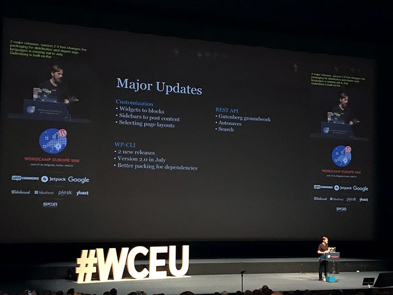 Matt Mullenweg: The Future of Gutenberg - WCEU 2018