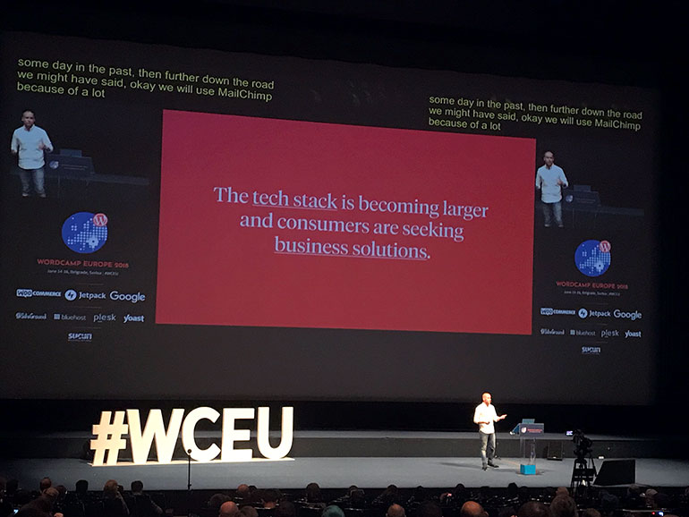 Noel Tock: WordPress in 2019 - WCEU 2018