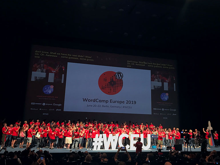 WCEU 2019 Berlin Announcement