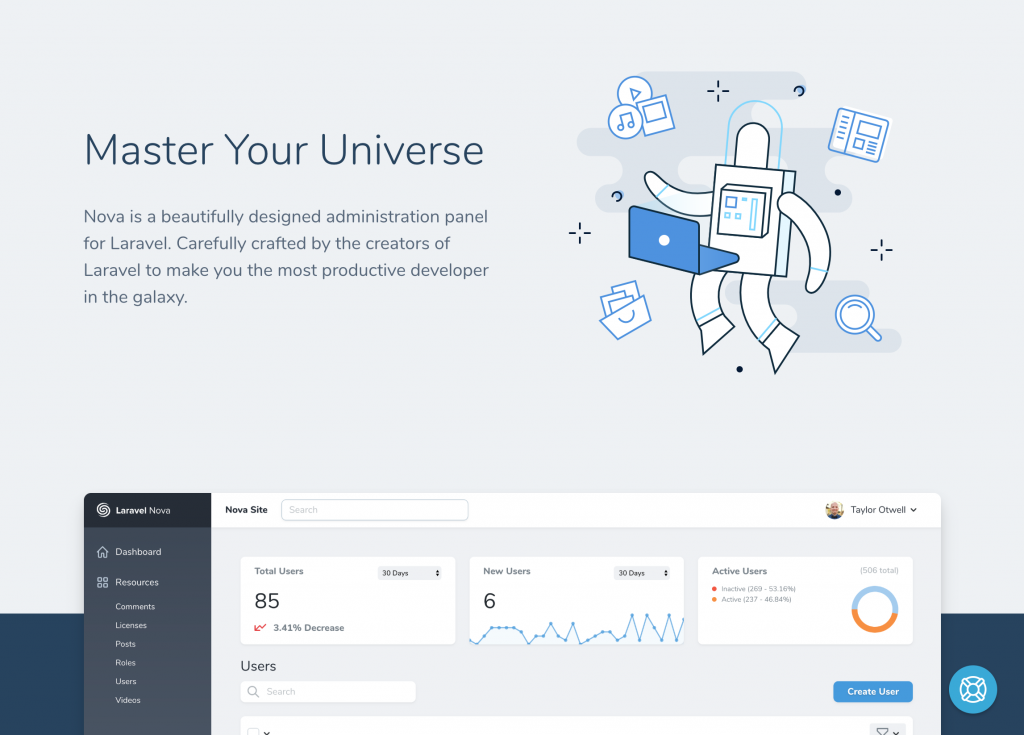 Master Your Universe with Laravel Nova
