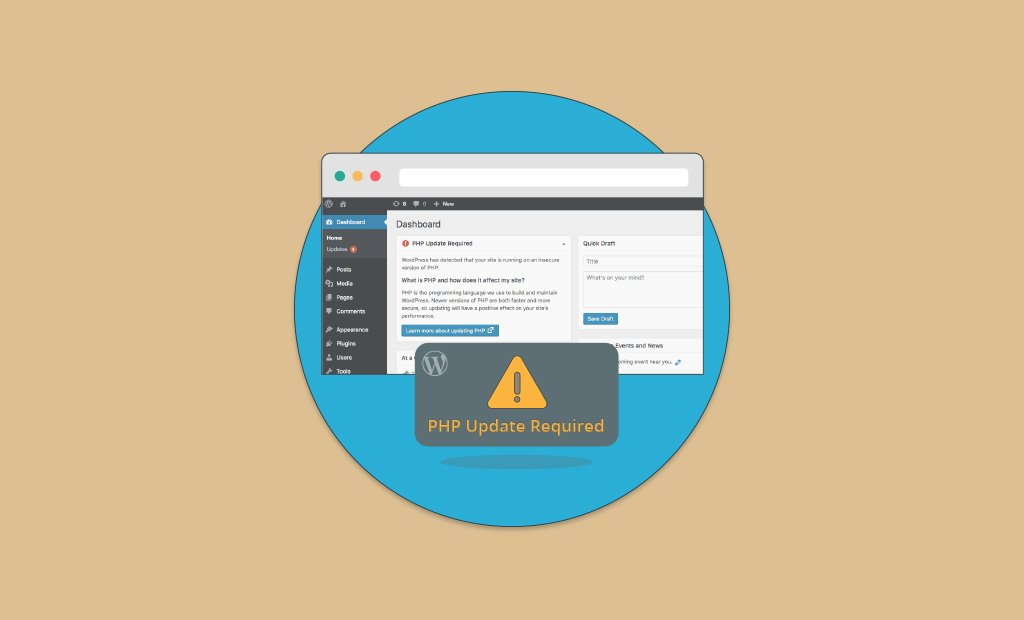 How to Fix WordPress Outdated PHP Version Warning