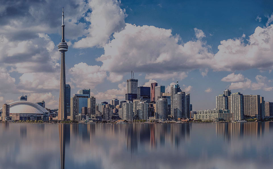 View of Toronto - Canada