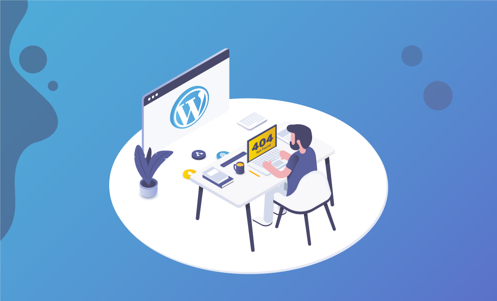 FastComet WordPress 404 Error