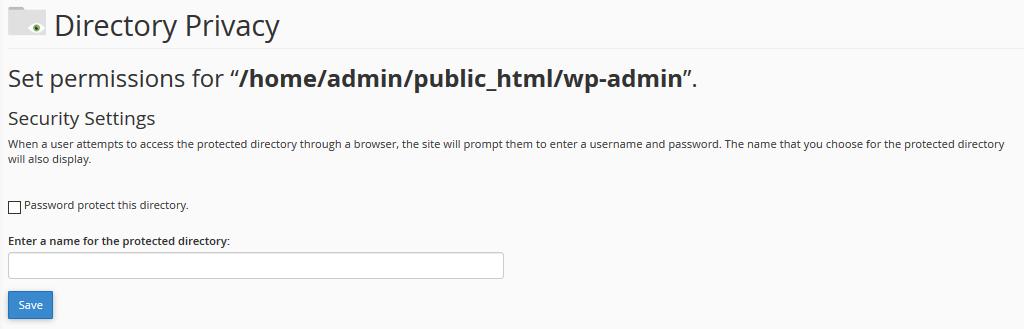 WordPress Set Permissons