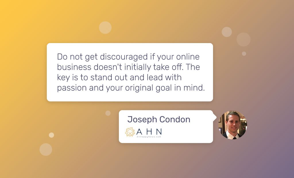 Fastcomet Interview Joseph Condon