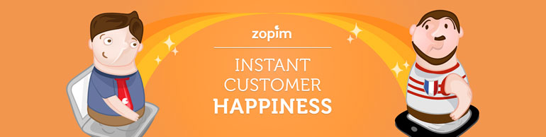 The Zopim Banner