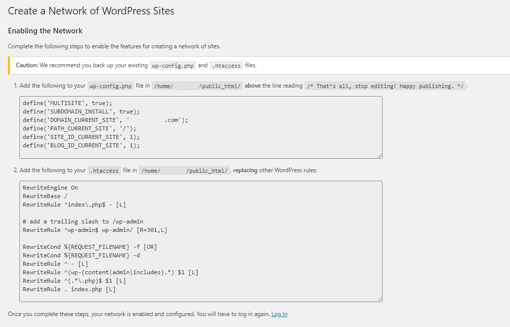 WordPress Snippets to Use for Enabling your Network