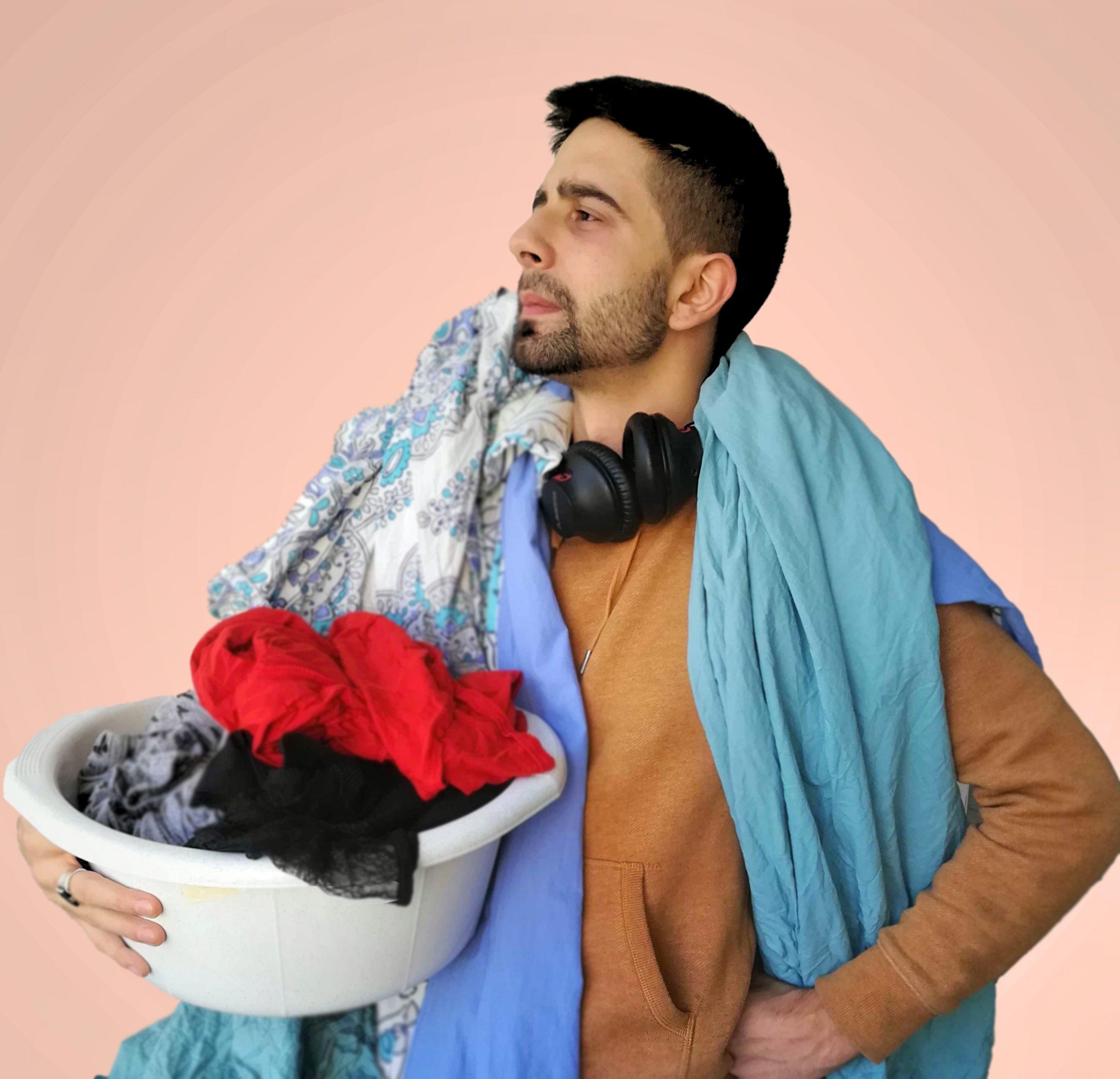 Vladi Doing Laundry