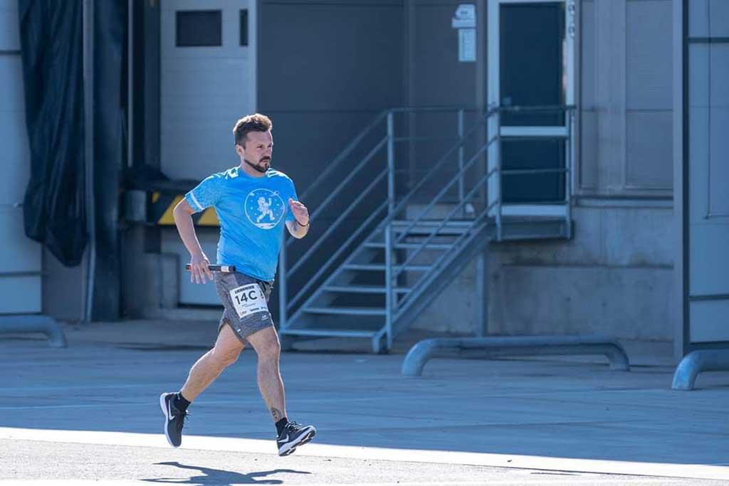 Ivan Dimitrov Running the Marathon