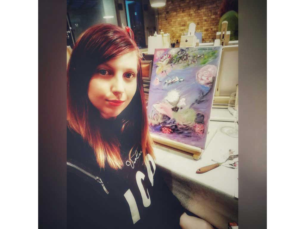 Yoana and Her Art